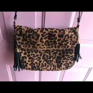 Handbags - Leopard Animal Print Crossbody Bag